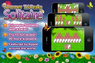 Summer Solitaire The Card Game screenshot 1