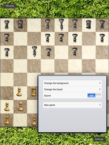 Chess for the iPad screenshot 4