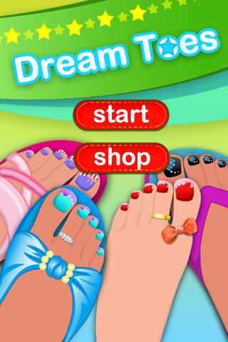 Dream Toes-Dress up games screenshot 1