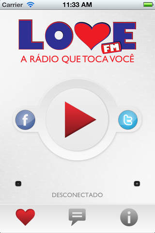Rádio Love FM - náhled