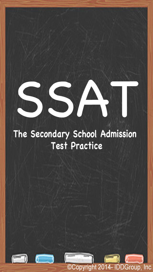 SSAT - Secondary School Admission Test Prep screenshot #1