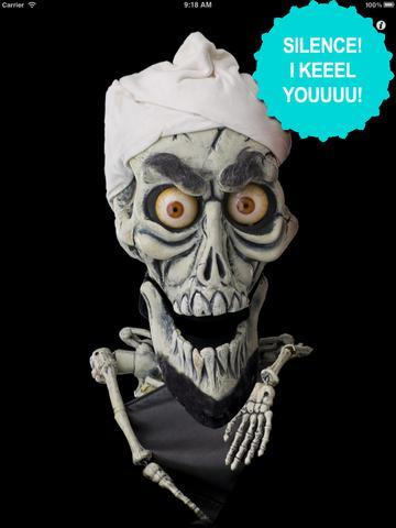 Talking Dead Skeleton HD screenshot 4