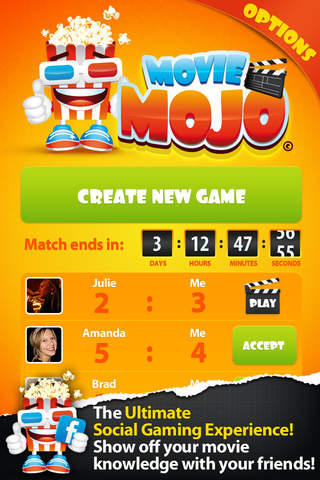 Movie Mojo: addicting trivia game - náhled