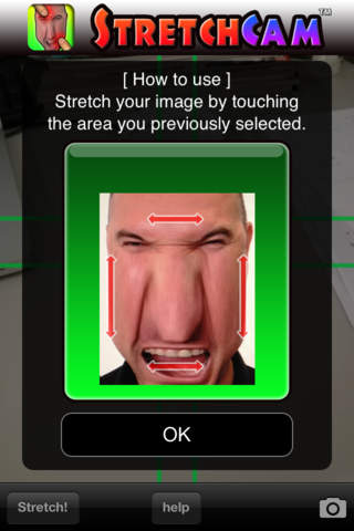 StretchCam - náhled