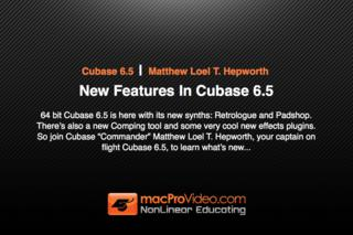 Course For Cubase 6.5 - New Features In Cubase 6.5 screenshot #1