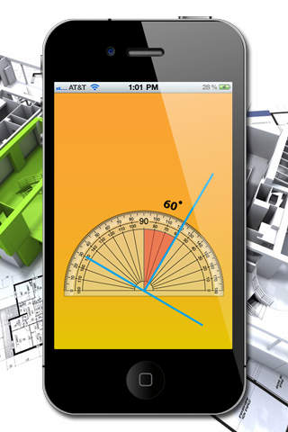 Angle Meter HD Lite screenshot 1