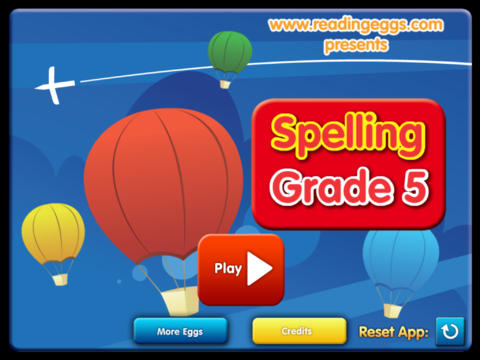Spelling Games Grade 5 HD - náhled