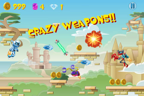 Reckless Robot Hero: Rocket Ship Shooting Free - náhled