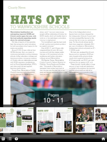 Warwickshire Magazine screenshot 7