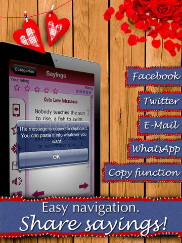 5,000 Love Messages - Romantic ideas and words for your sweetheart screenshot 10