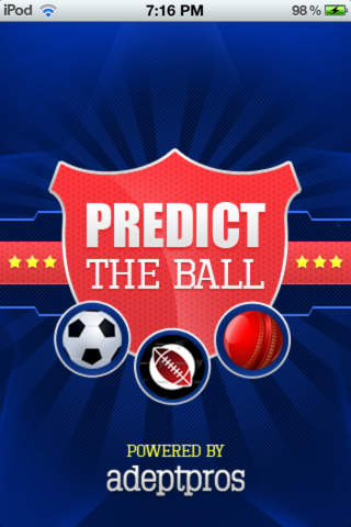 Predict the Ball - náhled