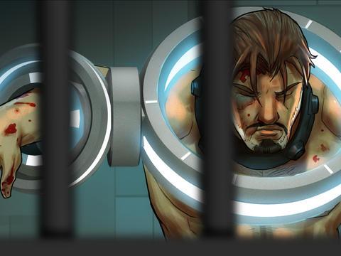 Star Battalion HD - The Comic Book screenshot #5