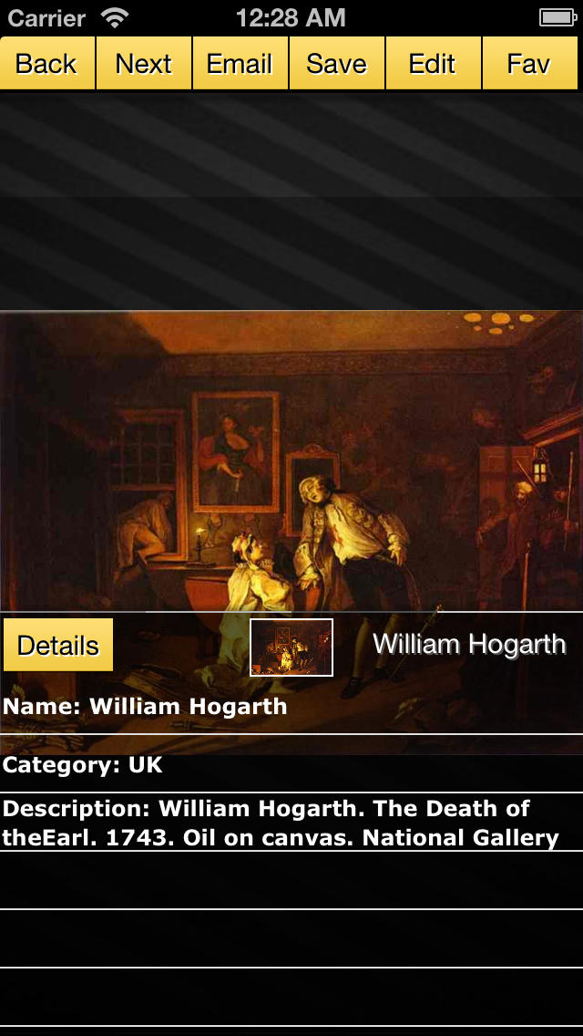 William Hogarth screenshot 4