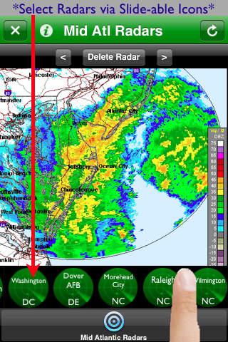 Mid Atlantic Radars screenshot 1