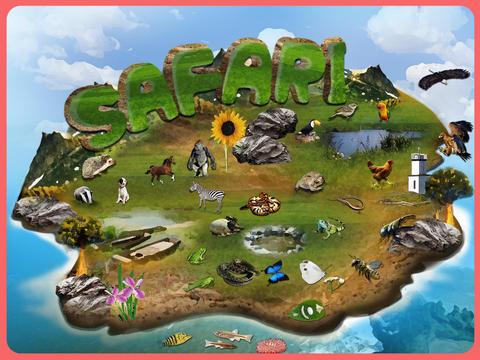 Kids Safari ™ screenshot 1
