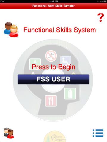 Work Skills Sampler HD screenshot 2