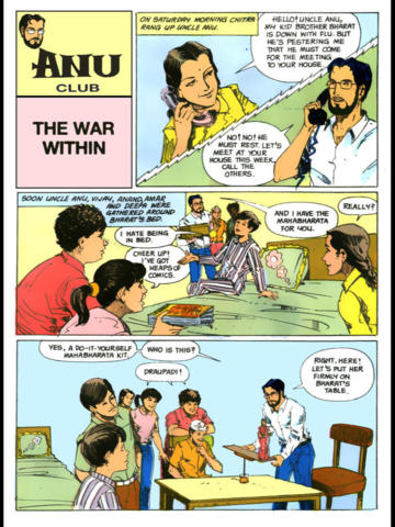ANU CLUB PART 3 of 8 - Amar Chitra Katha Comics ( Tinkle Collection of a Fun Way to Learn Science ) screenshot 7