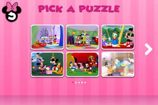 Disney Junior Minnie Mouseke-Puzzles screenshot #3