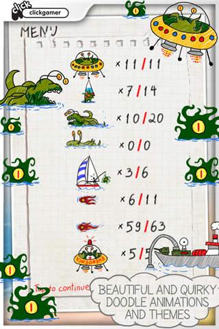 Doodle Invasion Lite screenshot 3