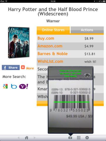 Barcode Scanner HD screenshot 6