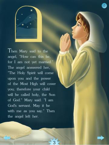 The Children's Bible: Jesus Is Born at Bethlehem screenshot 7