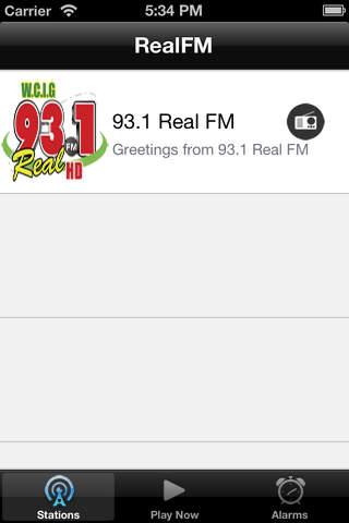 RealFM - náhled