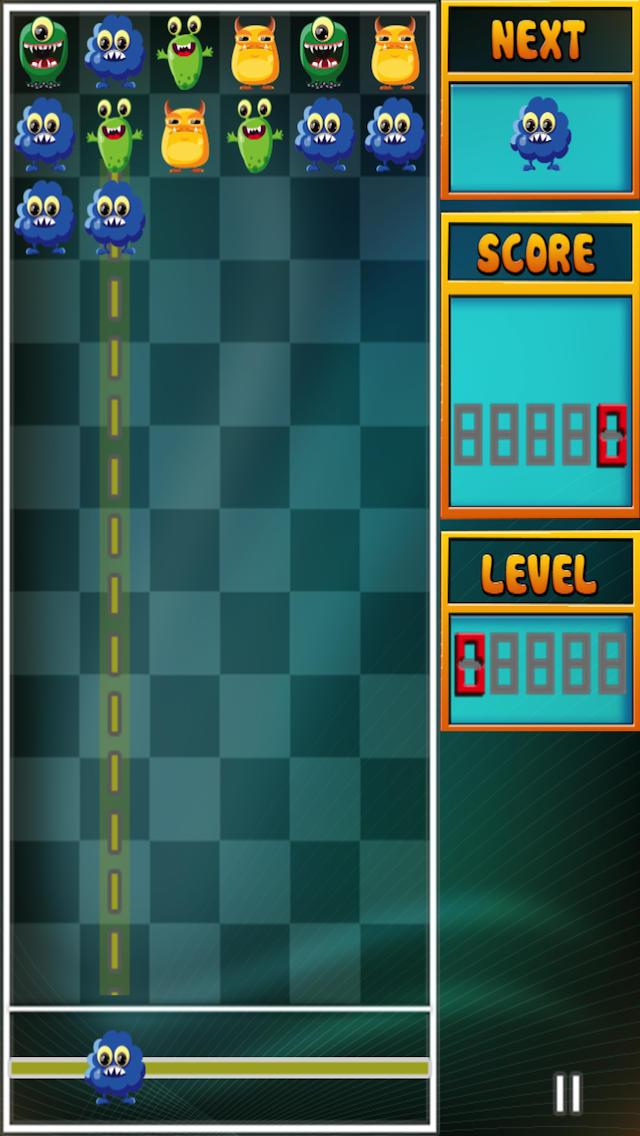 A Mega Monster Match Blast screenshot 1