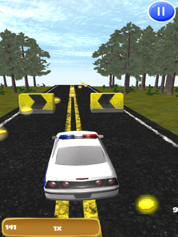 A Police Chase 3D: Endless High Speed Pursuit - FREE Edition screenshot 6