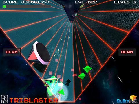 TriBlaster screenshot #2