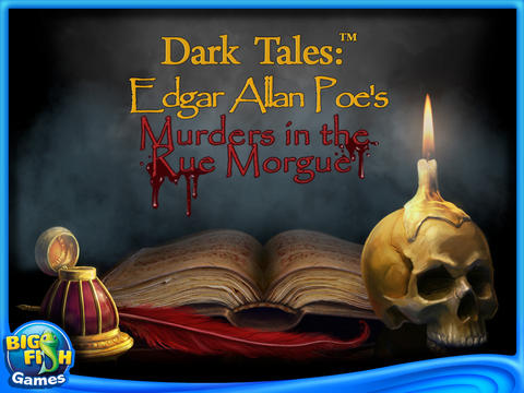 Dark Tales: Edgar Allan Poes Murder in the Rue Morgue Collector's Edition HD screenshot #1