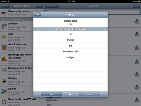 Learn German Words screenshot 8