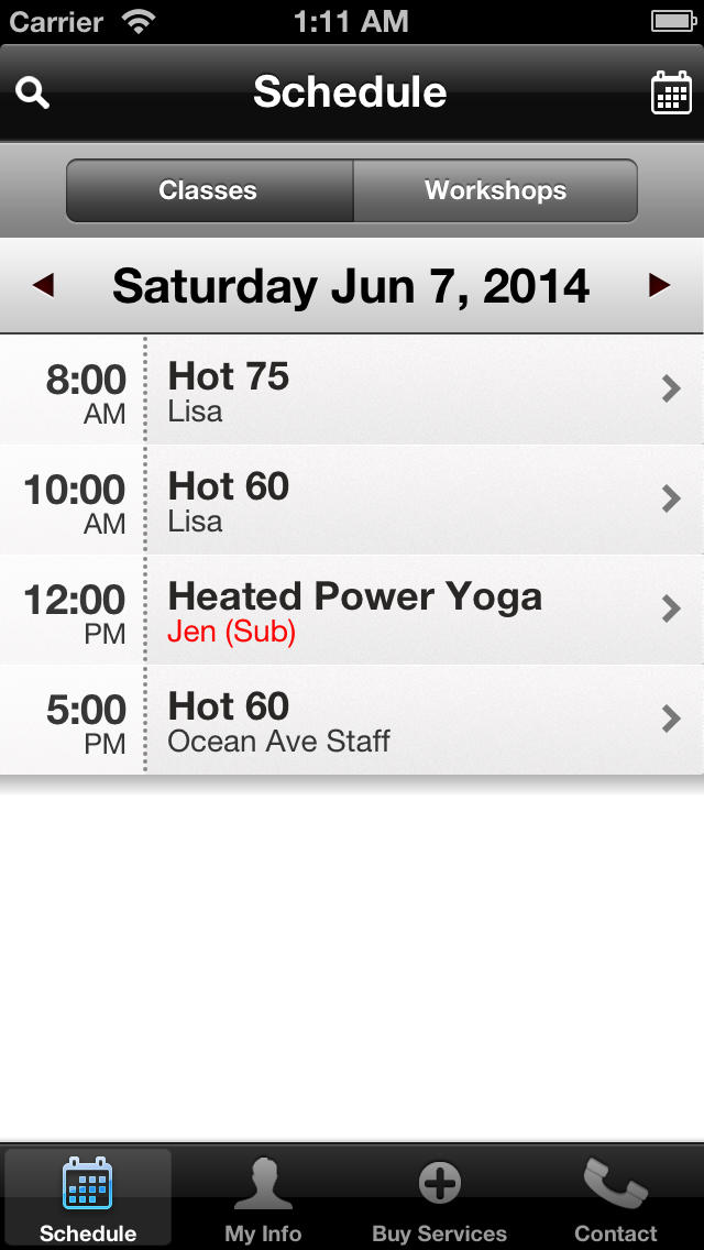 Hot Yoga Ocean Ave screenshot #3