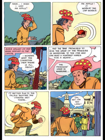 Folk Tales of Russia Digest- Amar Chitra Katha screenshot 7