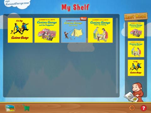 Curious George: Book Reader screenshot 2