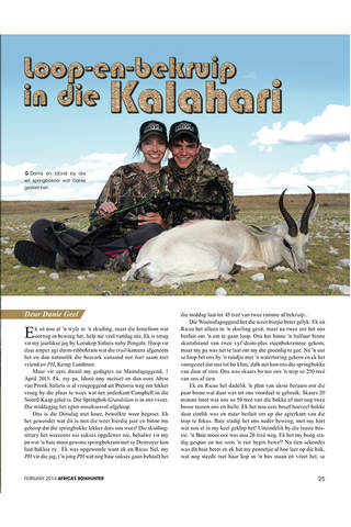 Africa's Bowhunter: Magazine for Hunters - náhled