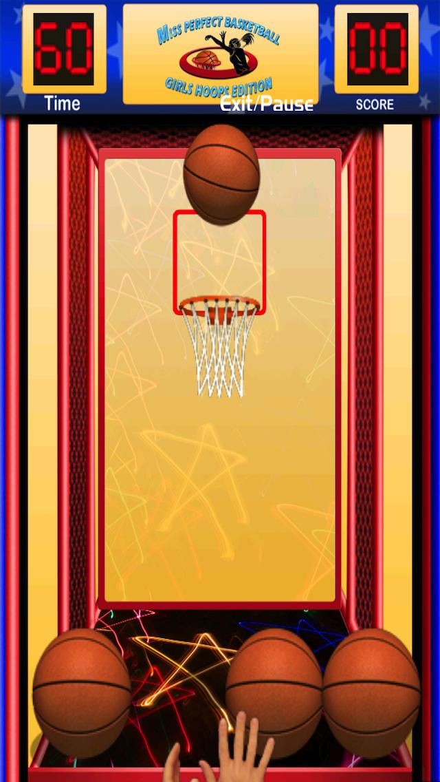 Miss Perfect Basketball - Girls Hoops Edition screenshot 1