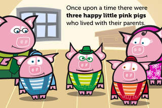 THE THREE LITTLE PIGS. ITBOOK STORY-TOY screenshot 2