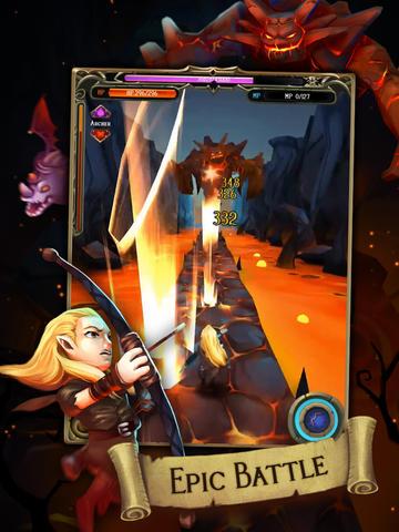 Battle Quest: Rise of Heroes (RPG Runner) screenshot 8