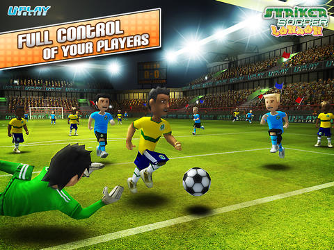 Striker Soccer London: your goal is the gold screenshot 7
