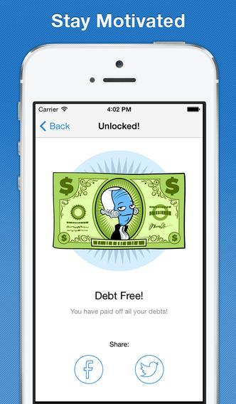 Debt Down - Pay off Debt: budgeting, loan calculators, strategies screenshot 5