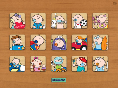 Wood Puzzle Baby GoochiCoo HD screenshot 5