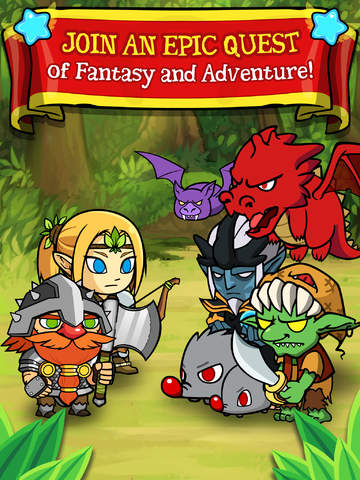 Puzzle Heroes - Fantasy RPG Adventure Game image #1
