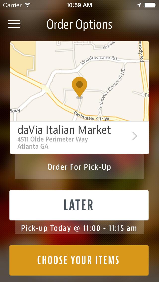 daVia Italian Market screenshot 2