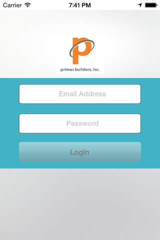 Primus Safety APP - náhled
