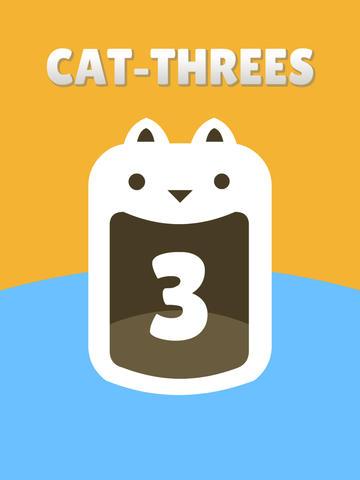 Cat Threes Pro - match puzzle screenshot #5