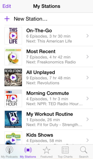 Apple Podcasts screenshot 2