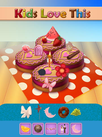 Decorate and Create Crazy Cookies - Dressing Up Game For Kids - Free Edition screenshot 7