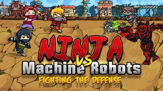 A Ninja Vs. Machine Robots: Fighting the Defense Free screenshot 1