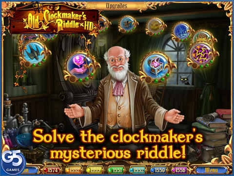 Old Clockmaker's Riddle HD screenshot 1