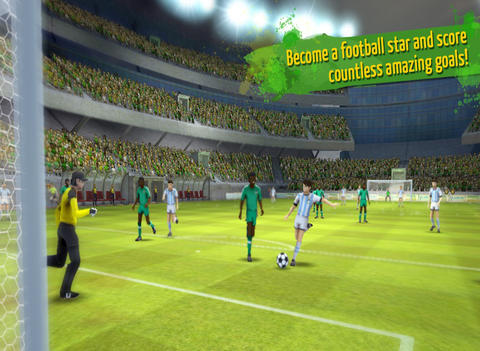 Striker Soccer Brazil: lead your team to the top of the world screenshot 9
